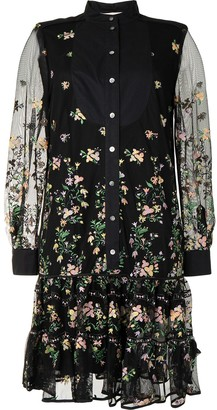 Tory Burch Ditsy floral shirt dress