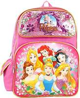 "Princess Disney Cinderella Belle Aurora Rapunzel 16"" Backpack"