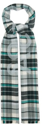 Acne Studios Victoria Checked-wool Scarf - Green