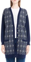 Loewe Women's Wool & Cashmere Jacquard Cardigan