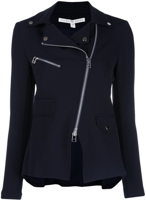 Veronica Beard Scuba Hadley fitted jacket