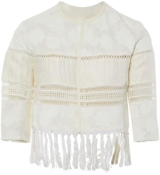 Jonathan Simkhai White Cotton Jackets