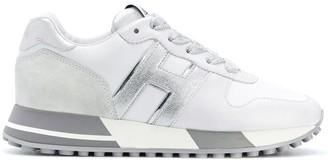Hogan H383 metallic sneakers