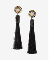 Express Tassel Post Back Earrings