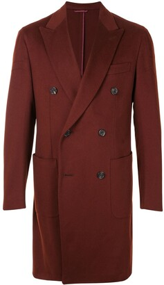 Brioni Double-Breasted Coat