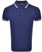 Versace Jeans Pocket Polo T Shirt Blue