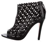 Alice + Olivia Gerri Laser-Cut Booties
