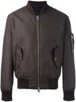 Ami Alexandre Mattiussi zipped bomber jacket - men - Polyamide - S
