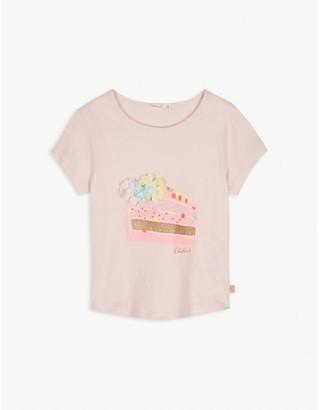 Billieblush Cake print cotton T-shirt 4-12 years