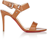 "Christian Louboutin Women's ""Sova Heel"" Sandals-BROWN"