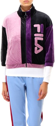 Fila Zipped Colour Block Logo Jacket