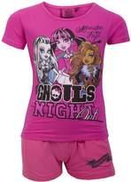 Monster High Girls Shorty Pyjama Age 6 to 12 Years