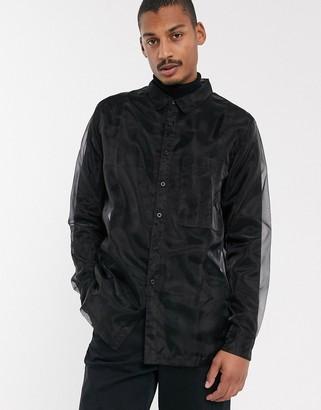 ASOS shirt in sheer fabric