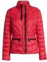 Bernardo Sporty Water-Resistant Quilted Jacket