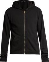 Haider Ackermann Perth hooded cotton-jersey sweatshirt