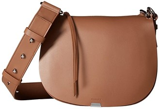 AllSaints Captain Round Crossbody (Chocolate Brown) Bags