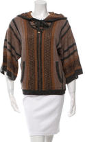 Veronica Beard Rancho Hooded Sweater