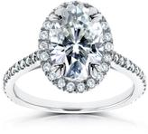Kobelli Jewelry Kobelli 1 4/5 CT TW Forever Brilliant Moissanite and Diamond 14K Gold Engagement Ring