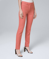 White House Black Market Women's Casual Pants Adobe - Adobe Luxe Suiting Slim Pants - Women & Women's Tall