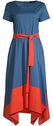 Max Mara Rivalta Colorblock Dress