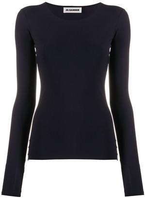 Jil Sander stretch-fit T-shirt