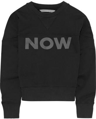 Rebecca Minkoff Ebony Printed French Cotton-terry Sweatshirt