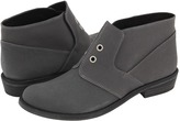7 For All Mankind Oz (Washed Black Waxy Canvas/Grey Oil Crosta Trim) - Footwear