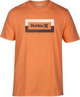 Hurley Men's Bar Hop Premium Logo-Print Cotton T-Shirt