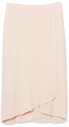 Paris Sunday Women's Long Crepe Wrap Skirt