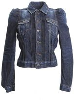 DSQUARED2 Blue Cotton Victorian Jeans Jacket