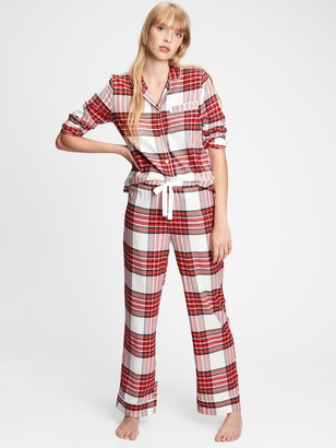 Gap Adult Flannel PJ Set