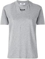 MSGM logo print T-shirt - women - Cotton - XS