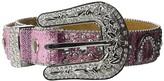 M&F Western Horseshoe Belt (Little Kids/Big Kids) (Pink) Women's Belts