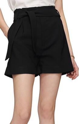 Anine Bing Kinsley Tie Waist Shorts