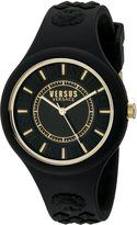 Versus By Versace Women's SOQ050015 Fire Island Analog Display Quartz Black Watch