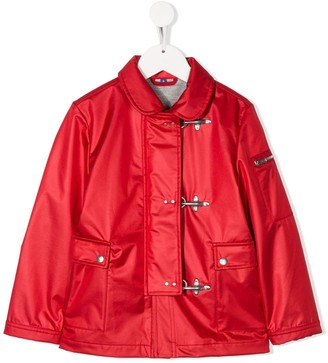 Fay Kids Front Buckled Jacket