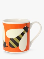 Orla Kiely Bee Mug, 350ml, Orange/Multi