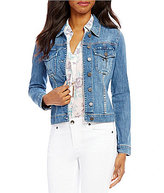 KUT from the Kloth Amelia Button-Front Denim Jacket