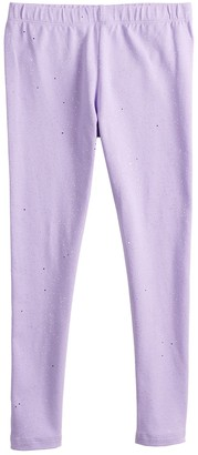 Girls 4-12 Jumping Beans Solid Leggings