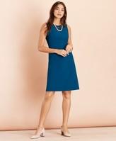 Brooks Brothers Wool-Blend Twill Dress