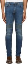 Belstaff Blue Skinny Biker Jeans