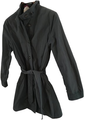Filippa K Grey Cotton Coat for Women
