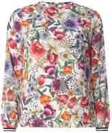 Dorothy Perkins Sports Trim Floral Top