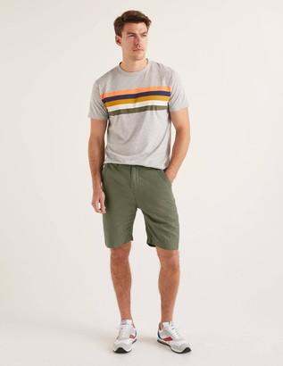 Cotton Linen Utility Shorts