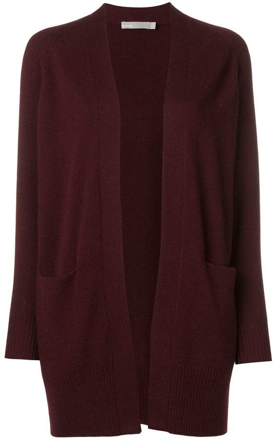 Vince mid-length open front cardigan
