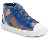 Burberry Boy's Warslow High Top Sneaker