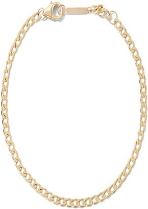 Lana Nude Curb Chain Single Strand Necklace