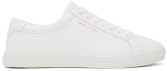 Saint Laurent White Andy Sneakers