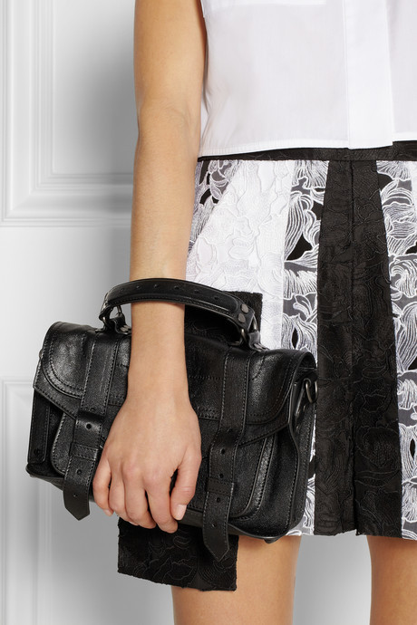 Proenza Schouler The PS1 Tiny leather satchel