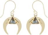 Accessorize Delta Horn Earrings